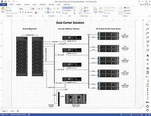 Example Visio Logical Data Center Diagram
