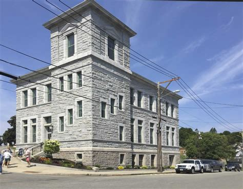 Eastport Post Office & Customs House  Wbrc Architects