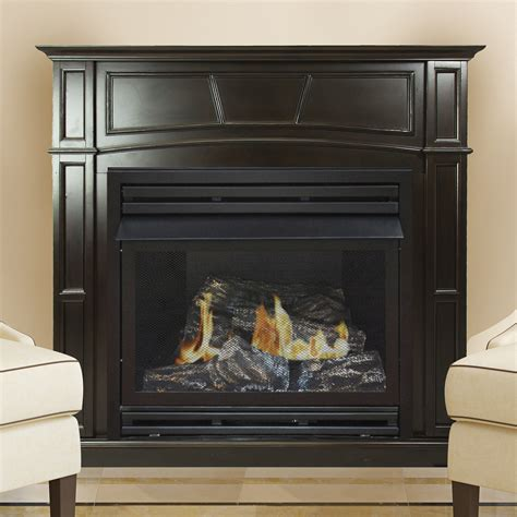 pleasant hearth   ng full size tobacco vf fireplace