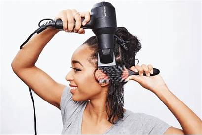 Blow Hair Dryer Comb Attachment Dry Using