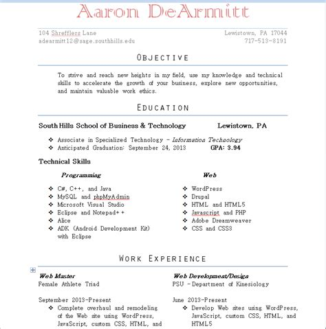 Resume Cover by Resume Cover Letter And References Web Developer