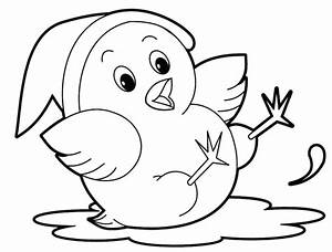 20 Free Printable Cute Animal Coloring Pages