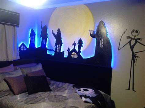 nightmare before themed bedroom nightmare before