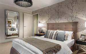 Tapeten Im Schlafzimmer : moderne tapete schlafzimmer ~ Sanjose-hotels-ca.com Haus und Dekorationen