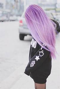 pastel purple hair on Tumblr