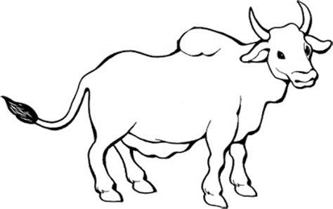Bull Coloring Page - Eskayalitim