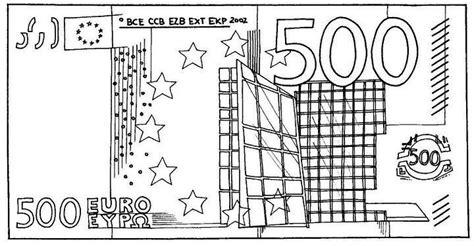 Kleurplaat Geld by Biljet 500 Geld Kleurplaten Kleurplaten