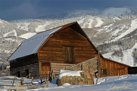 Steamboat Springs Barn by The Barn In Front Of Steamboat Resort Steamboat