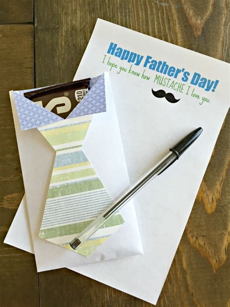 fathers day letter printable  gift idea craft remedy