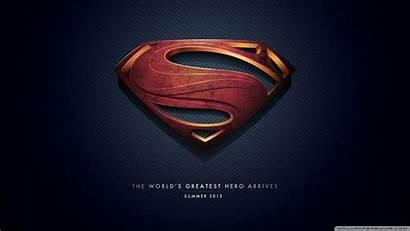 Superman Wallpapers Steel Logos Minimalistic Wallpapersafari Cave