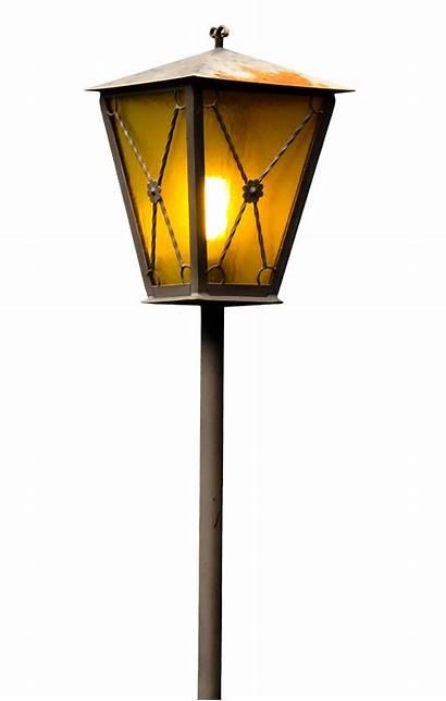 Lamp Street Transparent Clipart Lights Lantern Icon