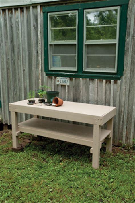 build   potting bench extreme