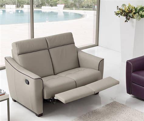 poltrone allungabili divano sally 2 relax pelle