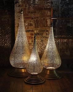 U0026 39 Flame U0026 39  Hand Crafted Moroccan Floor Lamp