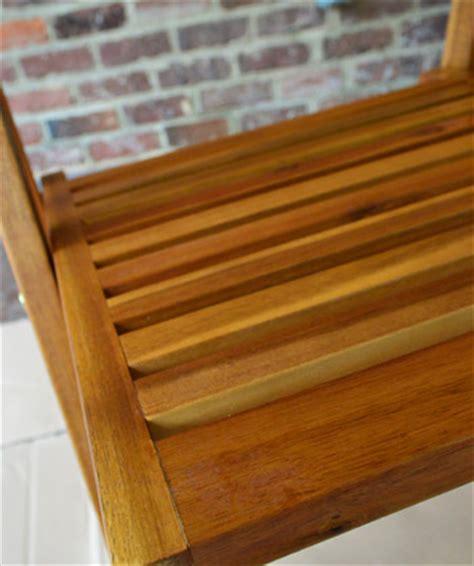 protecting outdoor furniture  varnish  teak oil