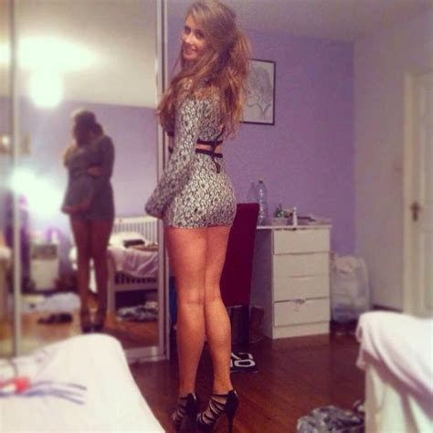 Irish Dresser by Chav Slag In Tight Dress And Heels Other