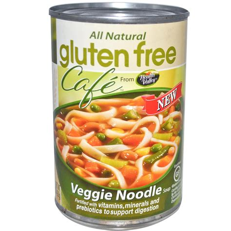 gluten free of soup health valley gluten free cafe veggie noodle soup 15 oz 425 g iherb com