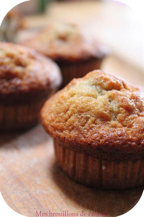 mes brouillons de cuisine muffins réconfortants à la banane et coeur nutella