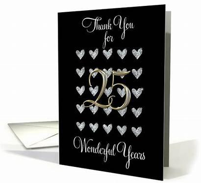 Husband Anniversary 25th Thanks Inside Cards Greetingcarduniverse