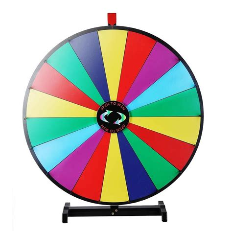 spinning color wheel upgraded editable 30 quot color prize wheel of fortune trade
