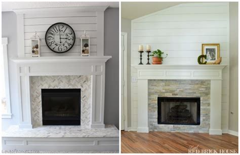 Small Kitchen Redo Ideas - brick fireplace makeover to always look perfect anoceanview com home design magazine for