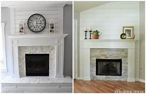 Brick Fireplace Makeover to Always Look Perfect