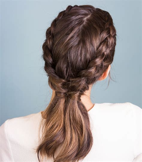 learn   perfect inverted french braids   step