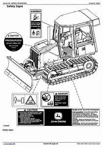 Deer 450h  550h  650h Crawler Dozer Service Repair