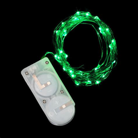 40 micro led green submersible string light