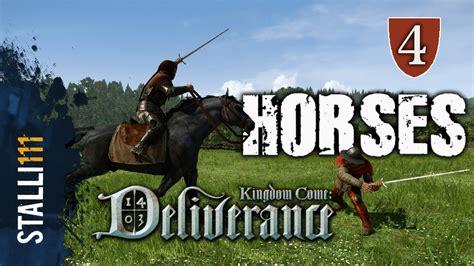 kingdom come horse deliverance horses riding