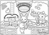 Coloring Calico Cream Ice Pages Alice Wonderland Sylvanian Families Coloriage Critters Cat La Flowers Joli Pour Printable Plage Colouring Autumn sketch template
