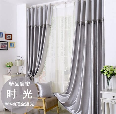 popular grey silver curtains buy cheap grey silver