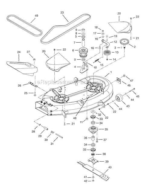 Ariens Parts List Diagram Ezr
