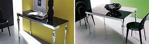 Tavolo allungabile per l'arredamento della cucina o del salotto