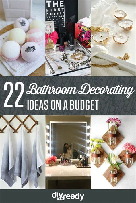 Decorating Ideas For Bathrooms On A Budget bathroom decorating ideas on a budget diyready easy