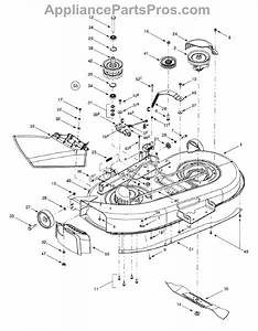Parts For Lawn Chief 13aq609g022    2001  Deck Assembly  U0026quot G