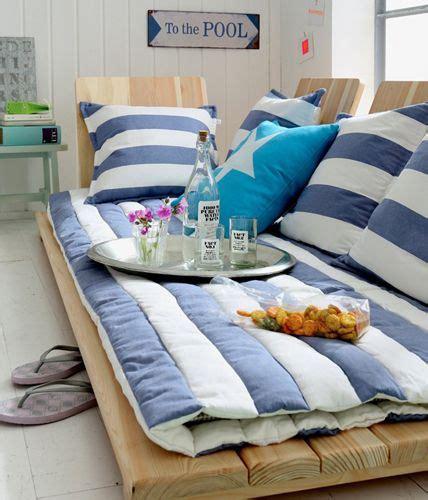 Kinderzimmer Gestalten Günstig by Maritim Einrichten M 246 Bel Aus Holz Und Textilien In Blau