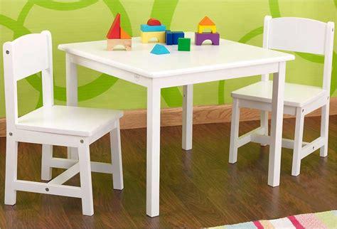 table et chaise moulin roty table en bois blanche pour enfant et 2 chaises kidkraft
