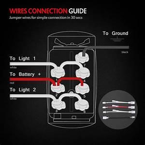 Warn Winch Rocker Switch Wiring Diagram
