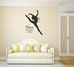 Dance like nobody s watching vinyl wall sticker