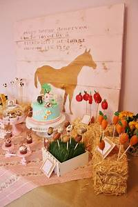 And Everything Sweet Horse Themed 2nd Birthday
