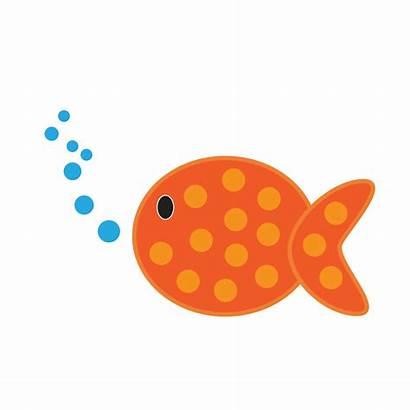 Fish Clipart Fishing Shower Cliparts Clip Cartoon