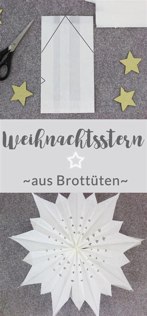 Weihnachsstern 5 Deko Bastelideen by Weihnachtsstern Aus Brott 252 Ten Basteln Diy Sterne