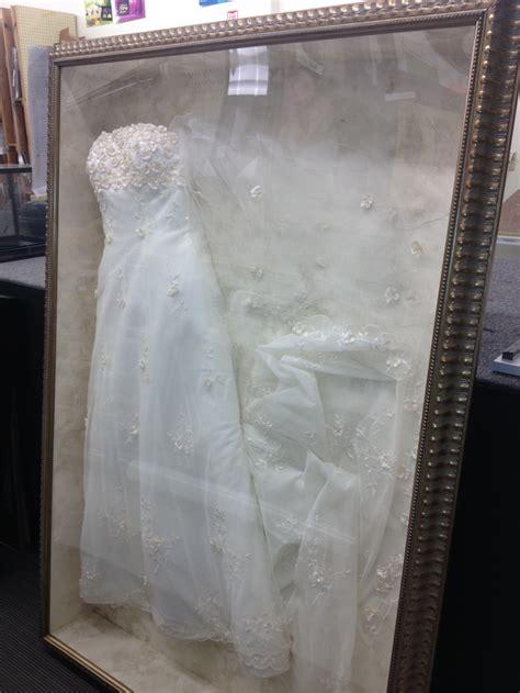 framed wedding dress diy ideas