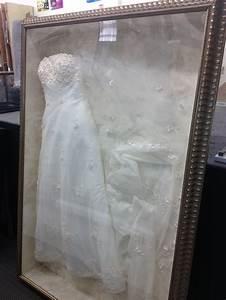 framed wedding dress diy ideas pinterest With companies that frame wedding dresses