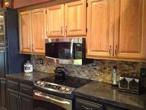 travertine kitchen backsplash kitchen concrete countertops charcoal stain epoxy finish