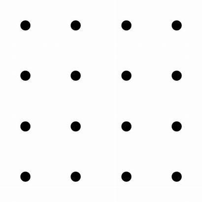Grid 4x4 Connect Dots Lines Squares Dot