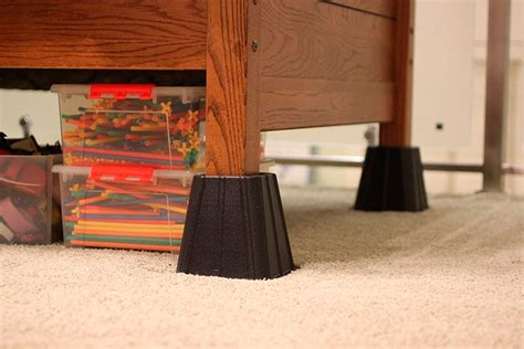 bed extender sleep bed risers boost your bed for storage space
