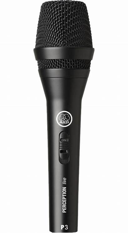 Akg Microphone P3s Dynamic Performance ไมโครโฟน