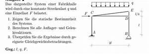 Auflagerkräfte Berechnen : technische mechanik auflager und gelenkkr fte mathelounge ~ Themetempest.com Abrechnung